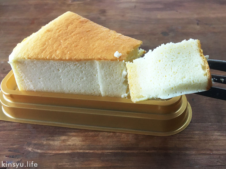 シャトレーゼの糖質スフレチーズケーキ